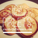 How to make perfect piklets