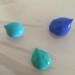 blue craft paint