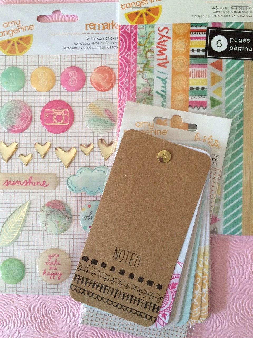 planning with amy tangerine supplies