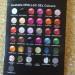 Opallac nail polish colours