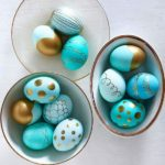 Pretty ways to decorate eggs for Easter!