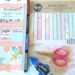 Using scrapbooking paper to decorate your planner