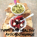 Yummy and Healthy Avocado Hummus