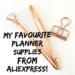 Bargain planner supplies from Aliexpress