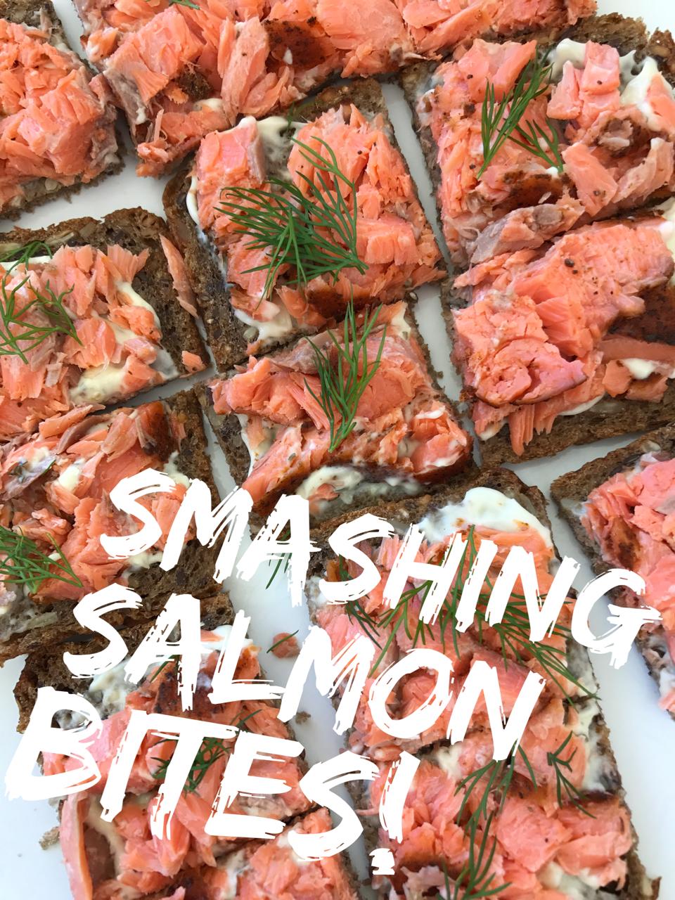 Huon Salmon Bites
