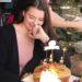 At birthdays we eat cake