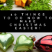 christmas planning 2017