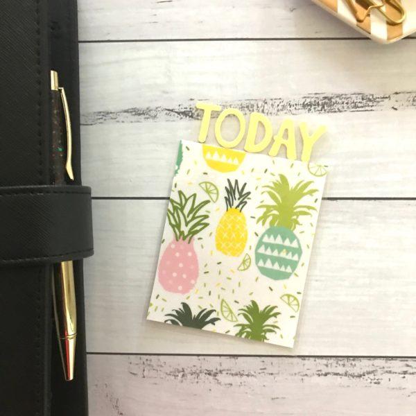 Pineapple book mark
