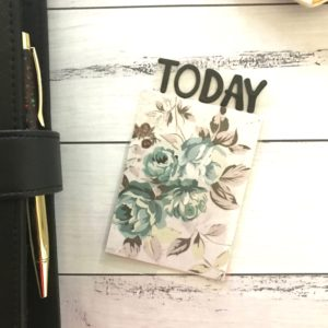 Holographic rose book mark