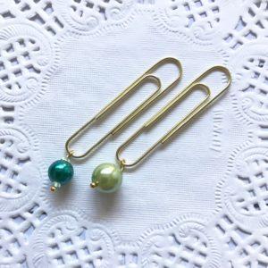 green pearl planner bling