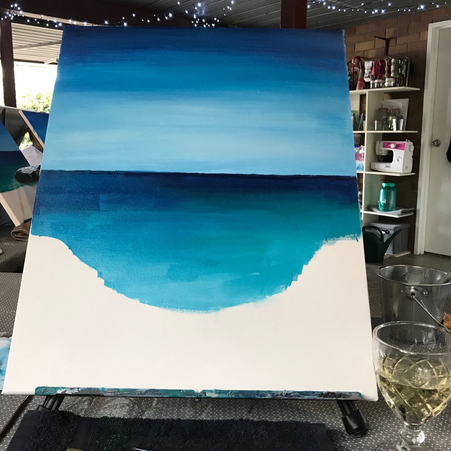paint and sip class ferny grove