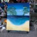 paint and sip beach class