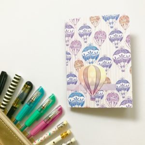 hot air balloon junk journal