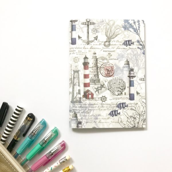 nautical ocean junk journal