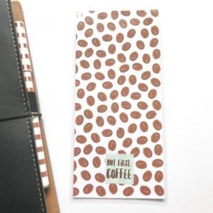 But first coffee hobonichi pencil board