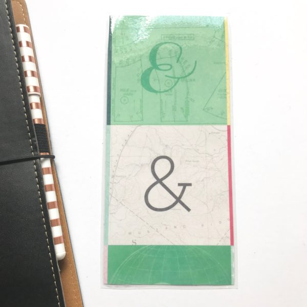 Ampersand hobonichi pencil board