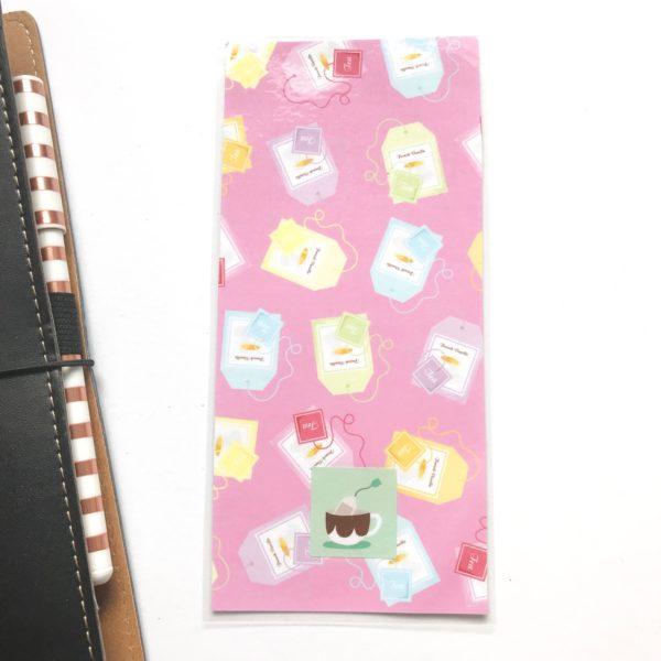 tea time hobonichi pencil board